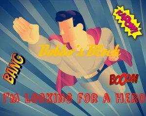 super-hero logo
