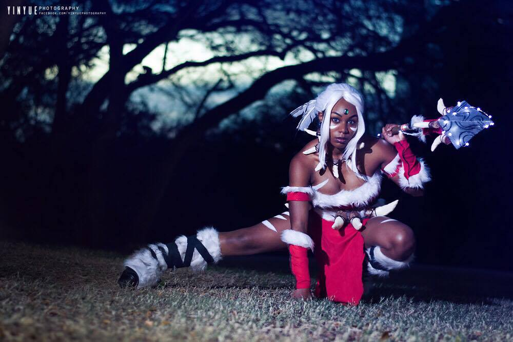 Cosplayers of Color: Tiburon Takes Aim